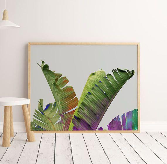 Printable Tropical Decor Tropical Plant Art Photography