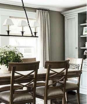Rustic elegance dining room