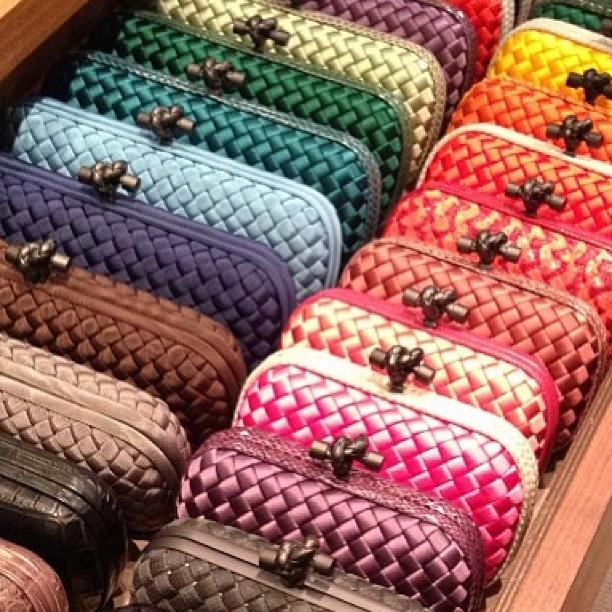 Bottega Vanetta knot clutches