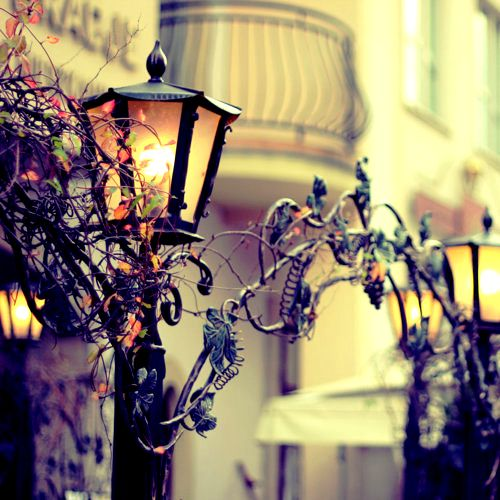 Autumn Lantern, Sopot, Poland photo via visually  http://visually-pleasing.tumblr.com/post/12373468317