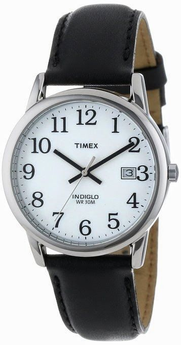 Timex Men's T2H281 Easy Read Watch $31.92  http://roksmu.blogspot.com/2014/07/mens-watch.html