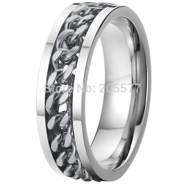 high quality silve color cool unique pure titanium rotating spinning wedding bands rings for men alliance anel  titan ringe - http://www.aliexpress.com/item/high-quality-silve-color-cool-unique-pure-titanium-rotating-spinning-wedding-bands-rings-for-men-alliance-anel-titan-ringe/32267190745.html