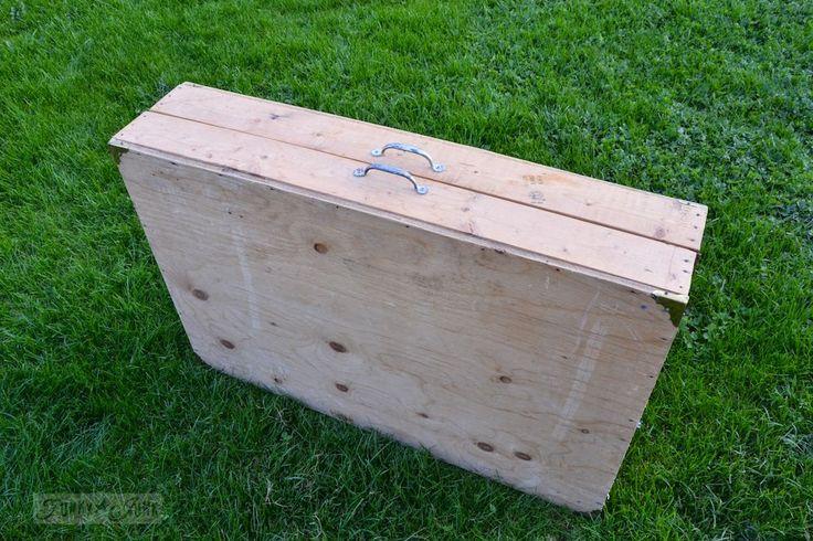 A portable workbench every DIYer needs | Funky Junk InteriorsFunky Junk Interiors