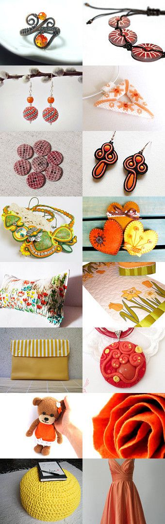 Summer Sun! by Bibe Jewelry on Etsy--Pinned with TreasuryPin.com