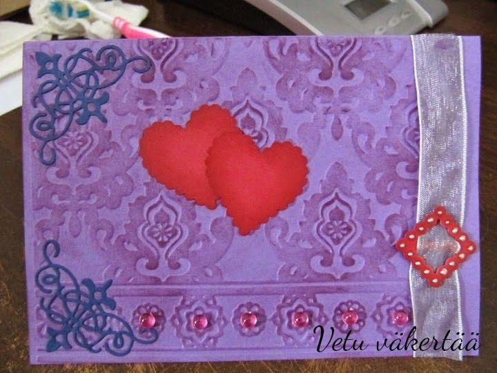 Ystävänpäiväkortti - Valentine's day card