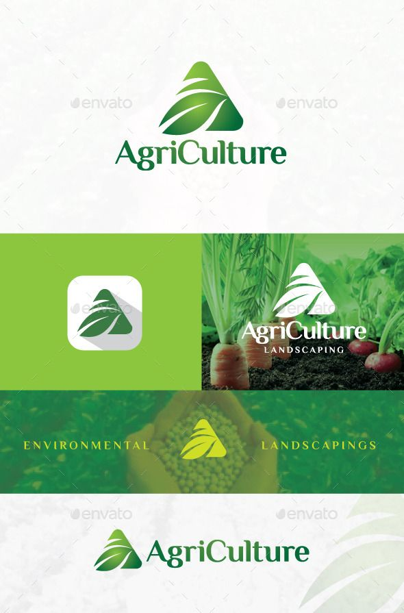 Agriculture - Farm Logo by wakgraphic Agriculture logo is perfect for those of you who want to start a agriculture business, with elegant design and attractive, ideal f