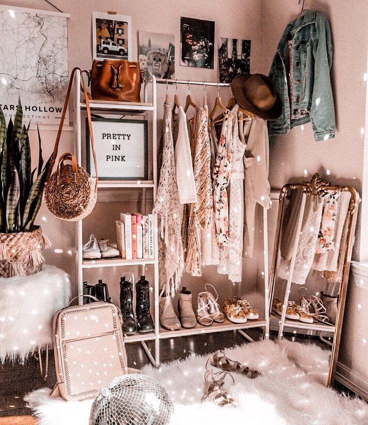 Verträumte Stubenstimmung (As Told By Michelle) ✨ #clothesrack #clothingrack #closet