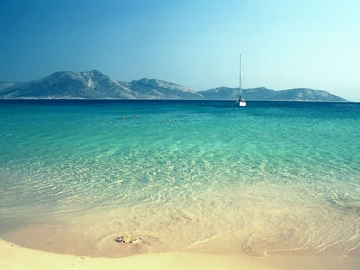 Pori beach, Koufonisi, Greece