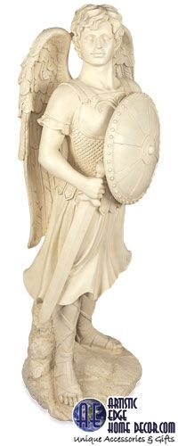 Archangel XL Garden Statues. Available soon online to order.