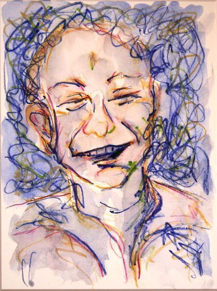 'Lachender 1' von funkyzoo bei artflakes.com als Poster oder Kunstdruck $21.56