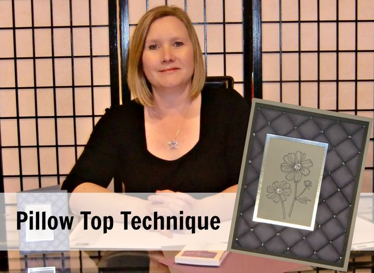 Pillow Top Technique  http://www.inkspirationswithsheri.ca/2015/04/pillow-top-technique.html