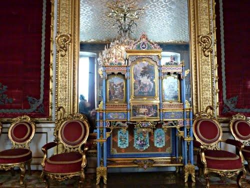 Museu   Hermitage .   Sala   Malaquita  .