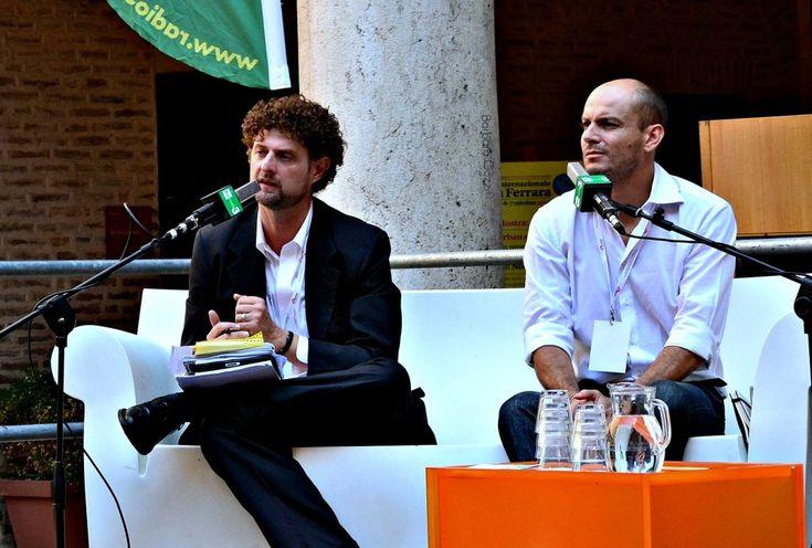 Da sinistra: Edoardo Vigna, Enrico Paganelli - Barbara Gozzi©