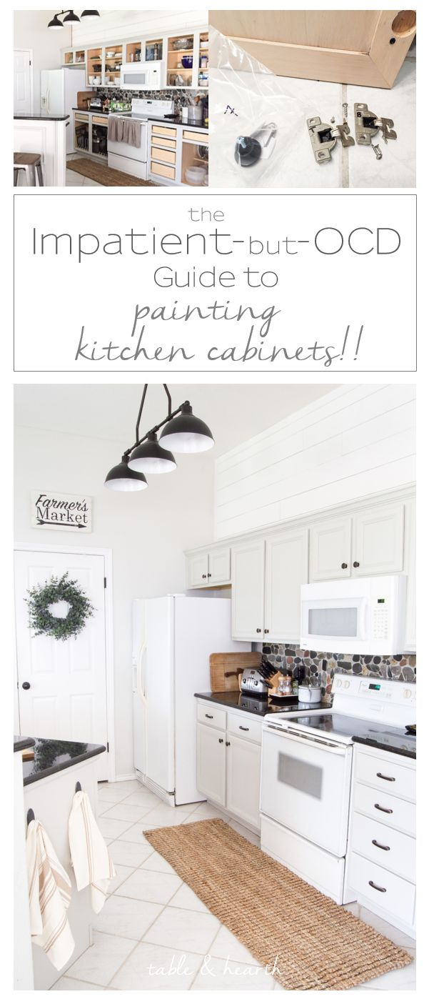 Kitchen cabinets quick - The Quick But Ocd Way To Paint Your Kitchen Cabinets Complete With A