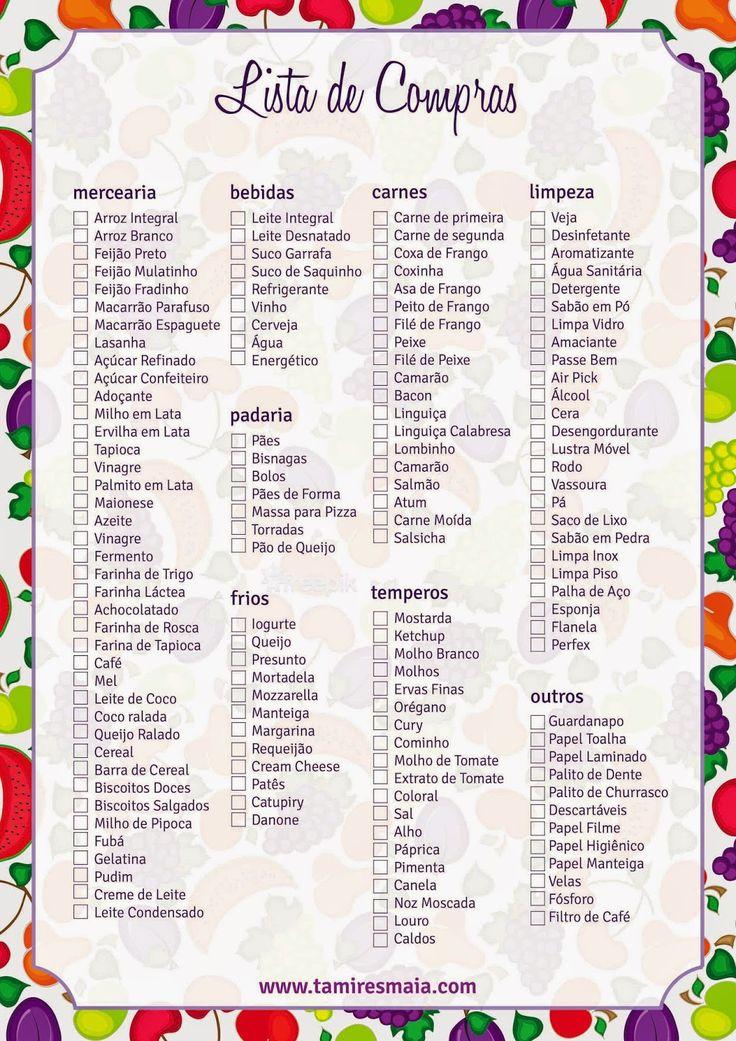 lista de supermercado - Pesquisa Google                                                                                                                                                                                 Mais