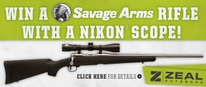 SAVAGE ARMS .300 WIN. MAG. GIVEAWAY