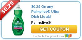 Go Couponing Now: On any Palmolive® Ultra Dish Liquid