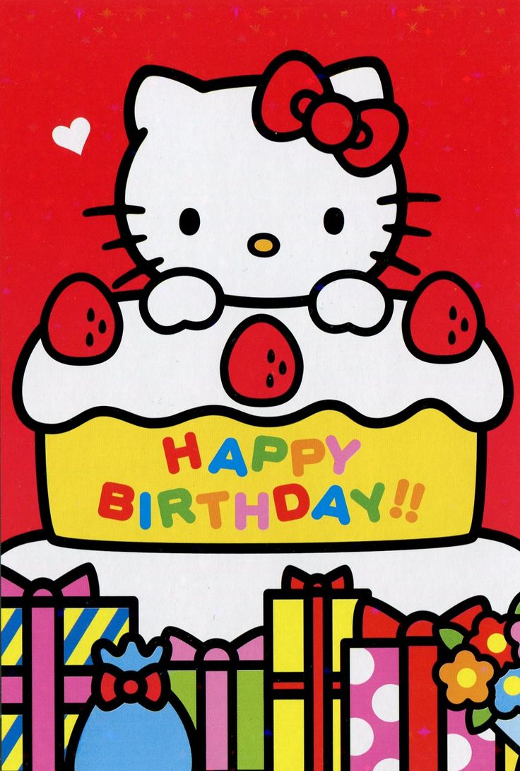 52 Best Hello Kitty Birthday Images On Pinterest Happy Birthday