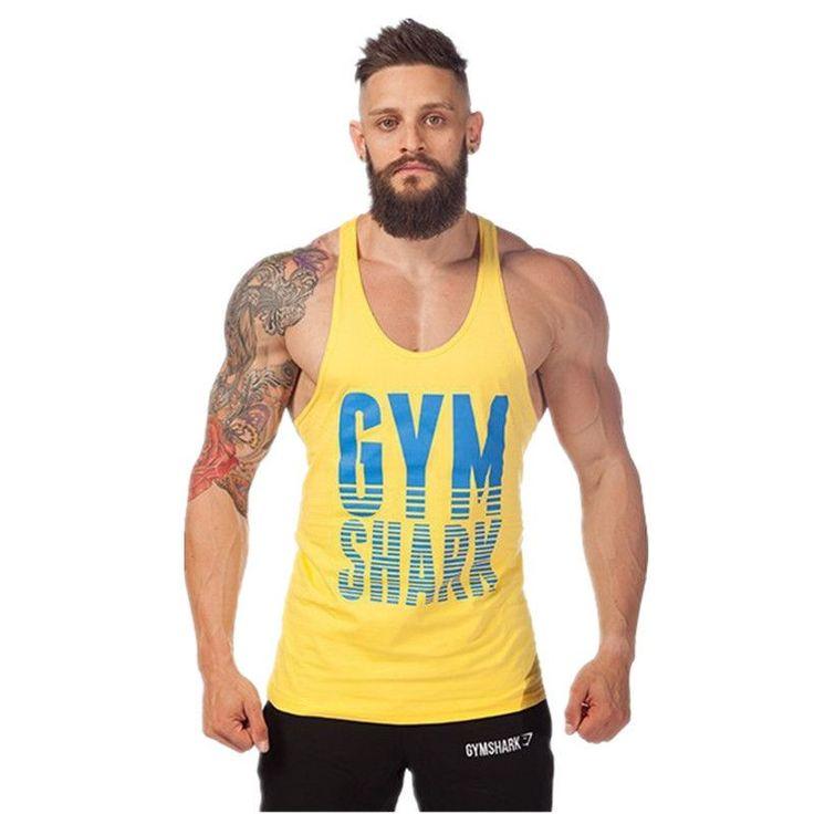 Golds Gym Superman Professional Vest Muscle Fitness Mens Bodybuilding.