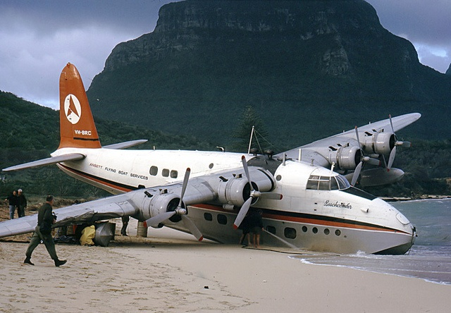 Lord Howe Island -  flying boat. One of the survivor aircraft now resides at Oakland international airport in a museum. #Aviation #Travel #Adventure