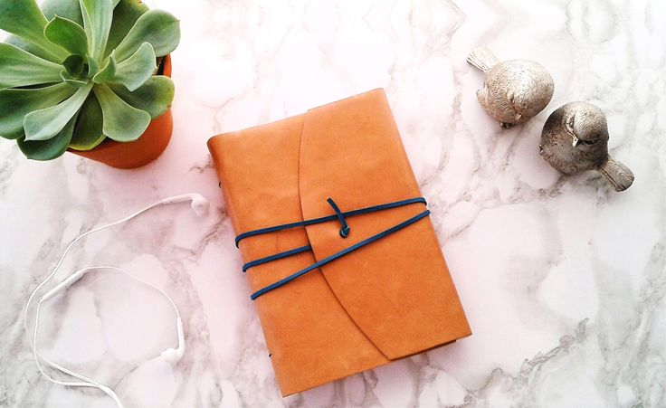 CARAMEL LEATHER JOURNAL
