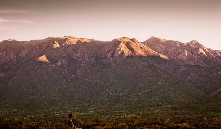 Montañas en Til til