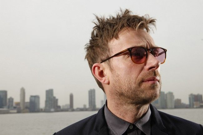 """ Damon Albarn in New York, April 18, 2014 by Nathaniel Welch  """