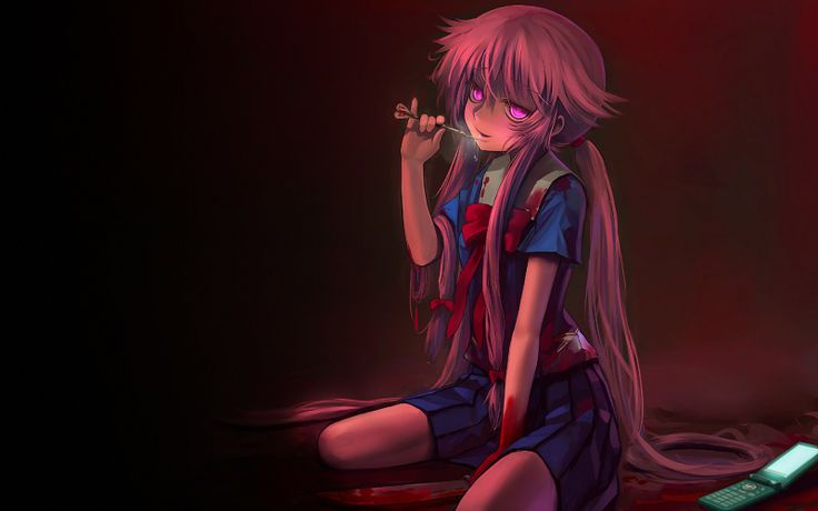 Mirai Nikki Gasai Yuno Yandere Anime Anime Girls: 17 Best Images About Mirai Nikki On Pinterest