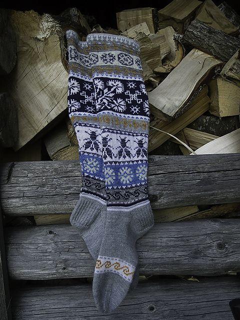 Ravelry: PaiviH's Loistavat niityt – Great Meadows (Muhu Socks)