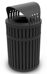 commercial zone trash cans dci plastic and steel