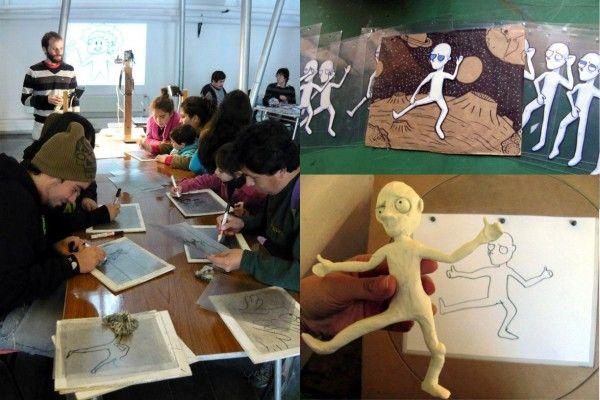 Talleres de Animación 2D. Talleres de Animación 2D en Santiago y regiones que sean gratuitos para los integrantes de la comunidad en la que son realizados.