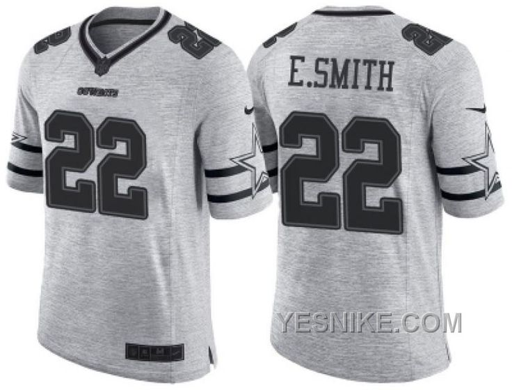 4c23ce397f3 ... germany nike dallas cowboys 22 emmitt smith 2016 gridiron gray ii mens  nfl limited jersey only