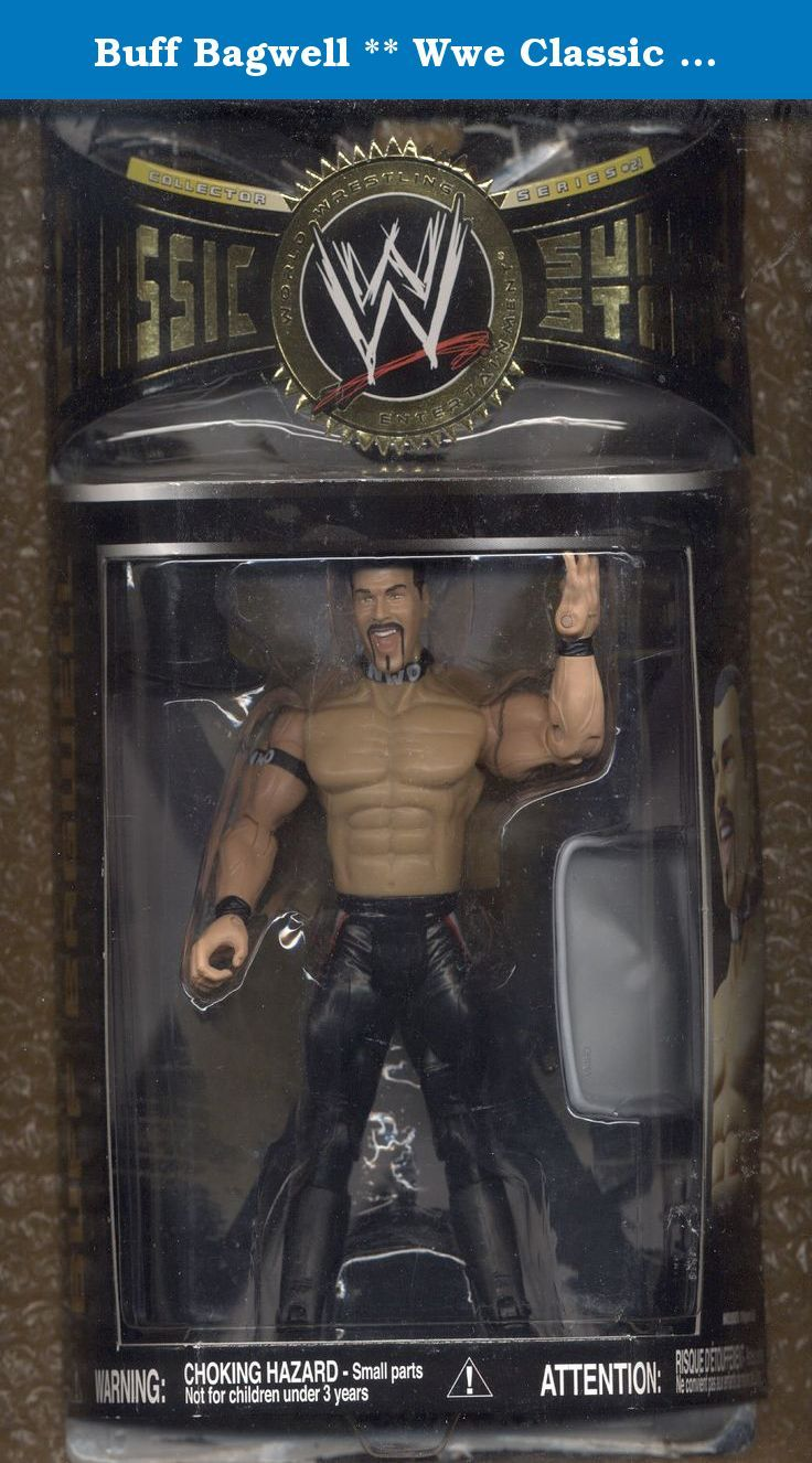 Buff Bagwell ** Wwe Classic Super Stars ** Series 21. ACTION FIGURE + TOP HAT & TRAY * 7 INCHES TALL (NOT INCLUDING TOP HAT).