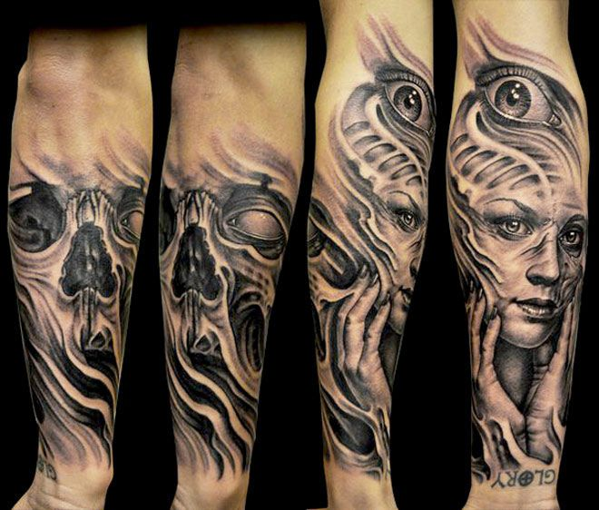 Pin By Jen Duffy On Tattoos: Skull Tattoo By Josh Duffy Tattoo