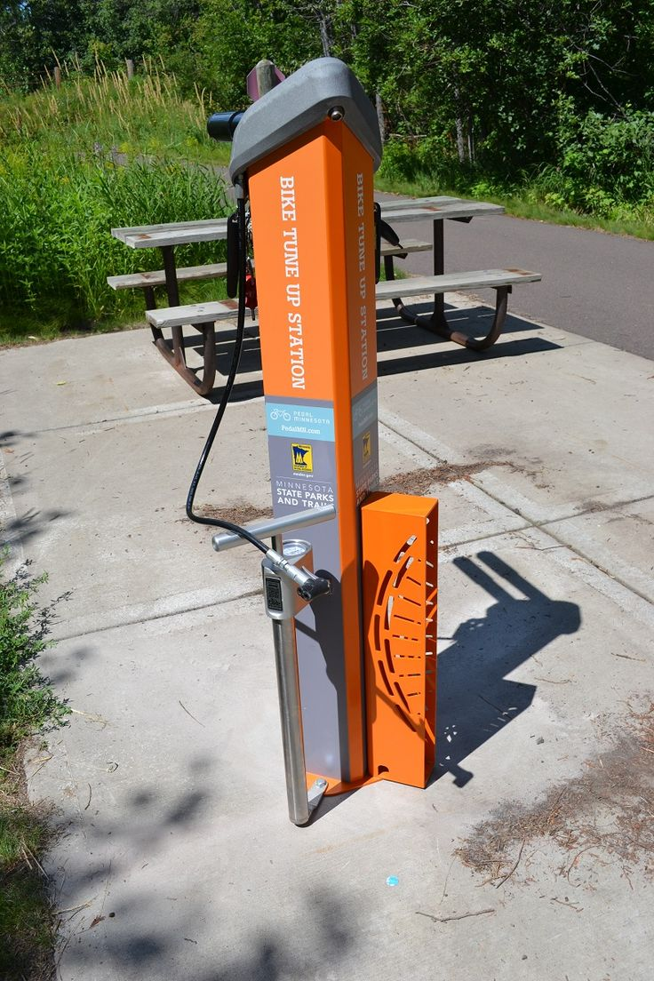Minnesota State Parks And Trails Offer New Bike Tune Up Stations
