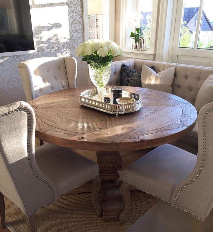 FINN – Nydelig rundt spisebord