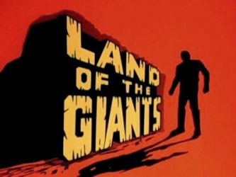 "Land of the Giants. During summer nights in the 60s/70s my sisters and I would stand with our fists on our hips looking at our larger than life shadows and yell ""Land of the Giants"""