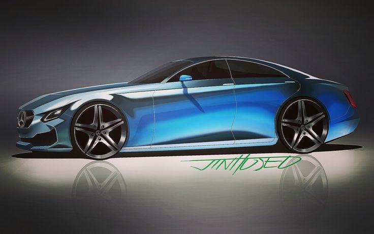 Mercedes Benz CLS concept 2016
