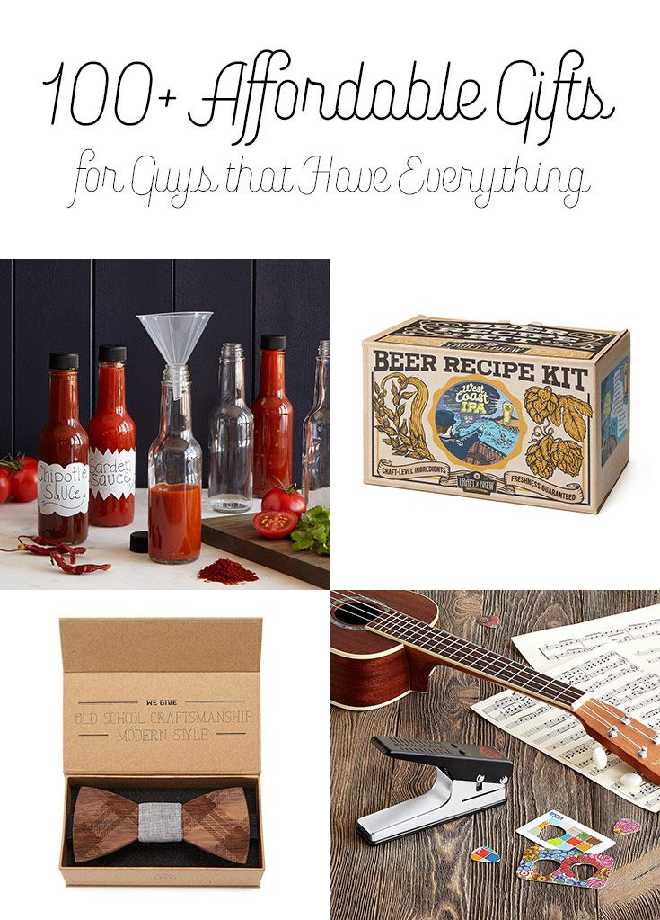 All under $50 – He already has a sweater, but does he know how to make his own hot sauce or punch his own guitar picks? It can be hard to find a perfect gift for the special men in your life. This is a cool collection of unique gifts for him that won't burn a hole in your pocket.