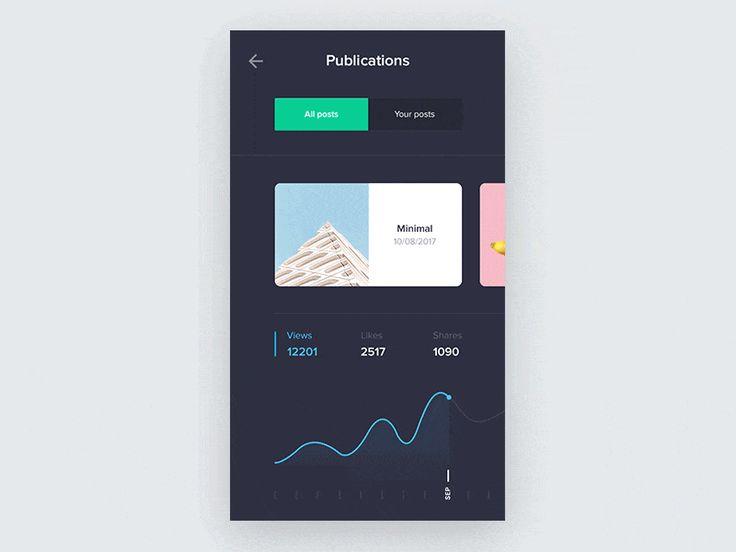 UI Interaction GIFs Of the Month — September 2017 – Collect UI Design, UI / UX Inspiration Blog – Medium