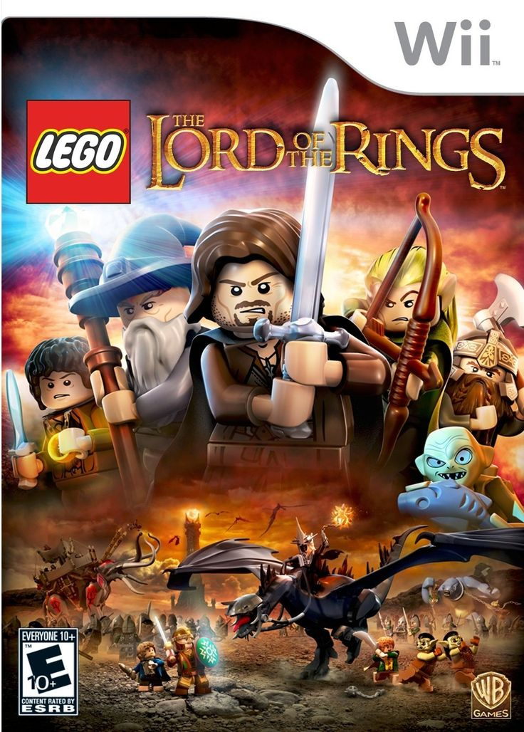 Finished 11 Aug 2015. I love love love the LEGO games, but when this one came out, I was busy playing things like Assassin's Creed and Batman. So it was lovely to return to this silly, scenery-smashing world. I wish TT hadn't started using voices or the open-world feature, but I've gotten used to it by now. LOTR for the Wii was fun in story, but unfortunately frustrating to get 100% due to all the glitches. But then, it made it all worth it when I did! | LEGO Lord of the Rings