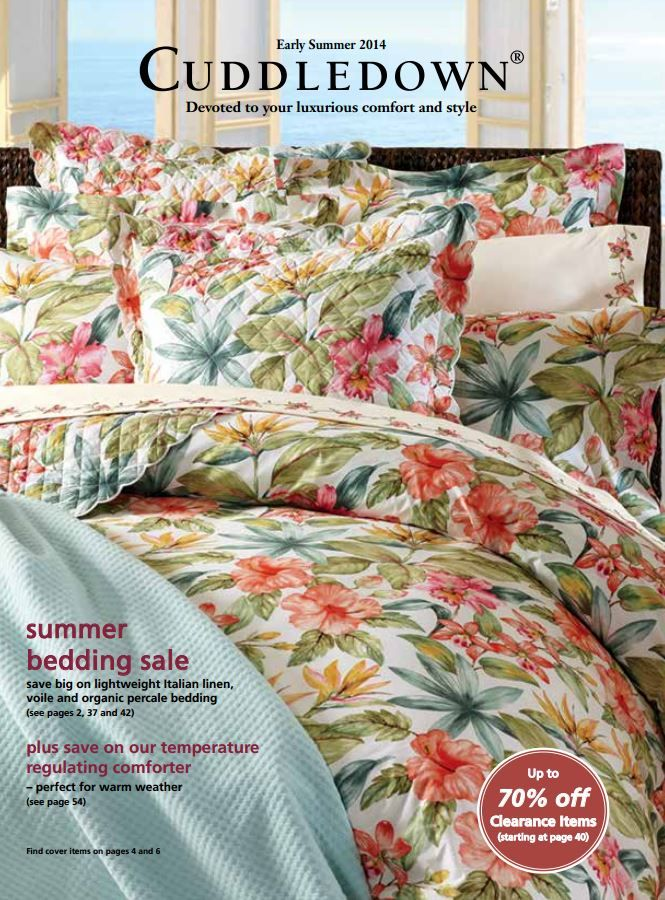 23 Best Images About Cuddledown Catalog Covers On