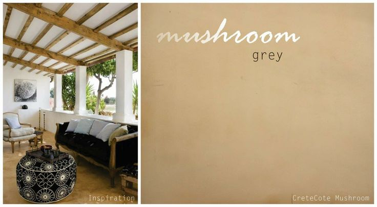 #11 Mushroom grey - create a feeling of comfort, warmth and relaxation