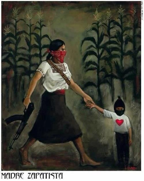 zapatistas..I have dreamt of them twice vividly and it felt like I was watching a historical documentary