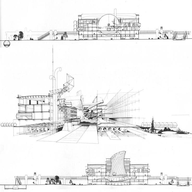 Riconversione Lingotto, Aldo Rossi, 1984, Torino.
