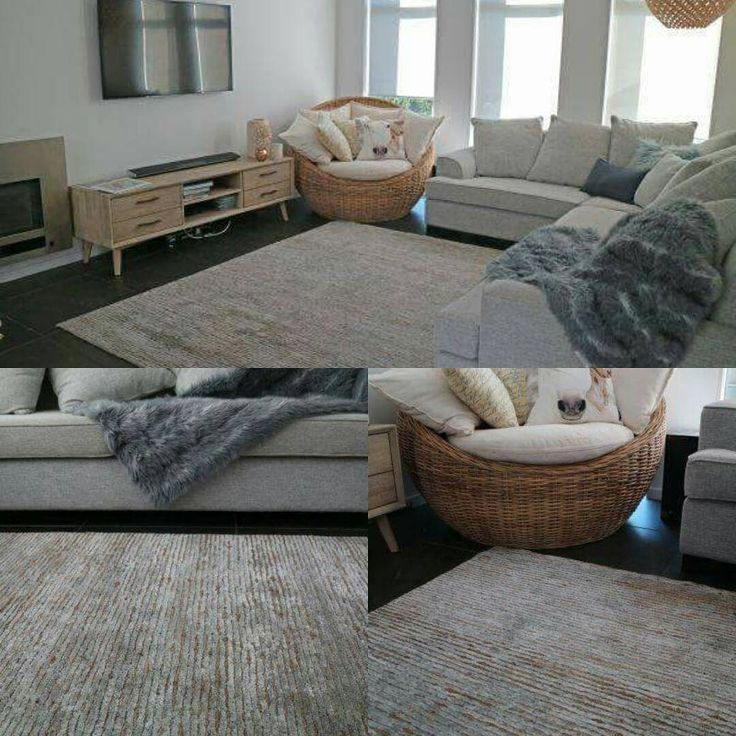 Another gorgeous Ritz Silver/Natural rug in an equally stunning home. I love the way the colours compliment and tie the whole look together. #Ritz #luxecollection #rugdesign #rugpile #sourcemondialNZ  #stripes