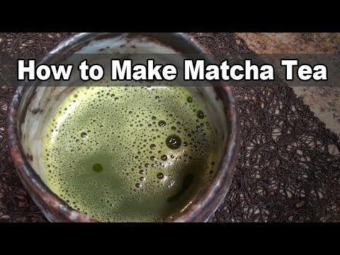 How to Make Matcha Tea - Dr. Jim Nicolai - YouTube
