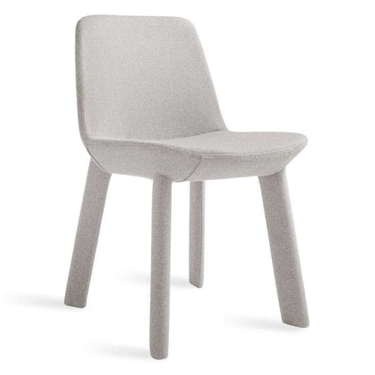Light Grey Upholstered Dining Chair