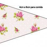 Convites, moldes, rótulos e lembrancinhas com o tema Floral Rosa Vintage para você fazer uma linda festa com o tema, kit totalmente gratuito