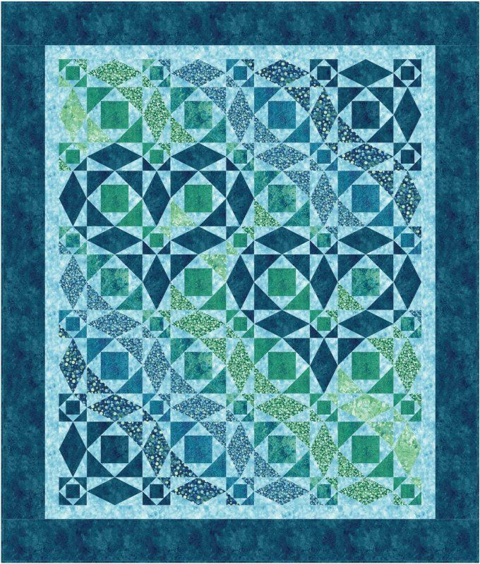 Our Hearts Will Go On quilt pattern | Fabric Addict